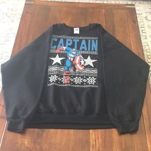 Marvel collection Men Captain America sweater